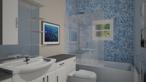For PanosZ 4 - Eclectic - Bathroom - by Theadora