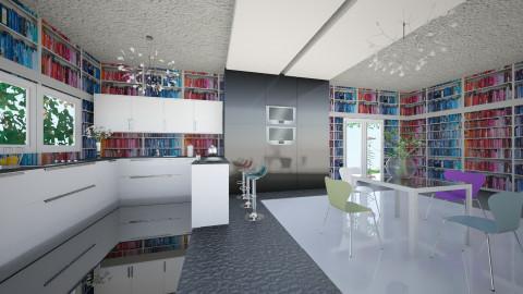 Arty - Retro - Dining room - by Saj Trinaest