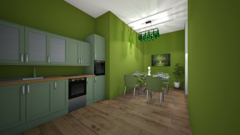 cozinha  - Country - Kitchen - by kelly lucena