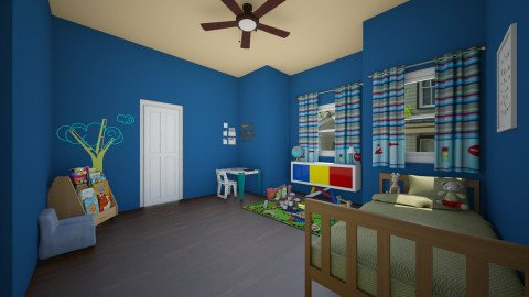 boy - Kids room - by mesmith3