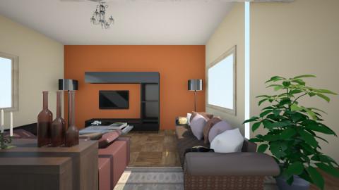 marrons casa 2 quartos - by kellassuncao