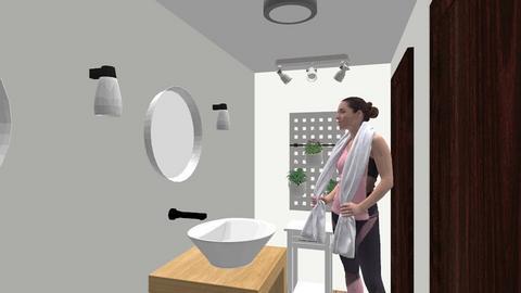 restroom ladies ballroom - Bathroom - by bungrio