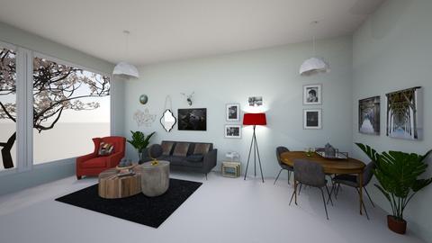 LIVING ROOM - Living room - by DanaGabay