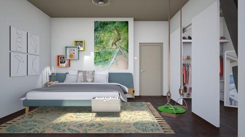 MPB - Modern - Bedroom - by augustmoon