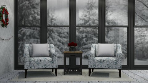 White Christmas - Rustic - Living room - by millerfam