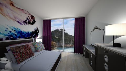 Travel to New Zealand - Global - Bedroom - by bleeding star