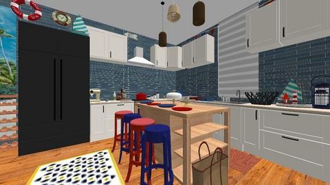 Nautical Kitchen - Kitchen - by SDFDesigns