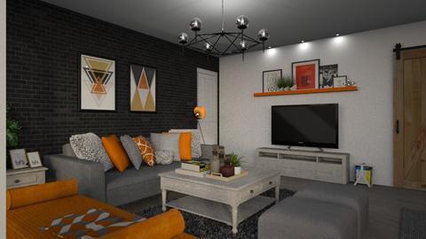 Kitchenandliving for Abna - Living room - by meggle