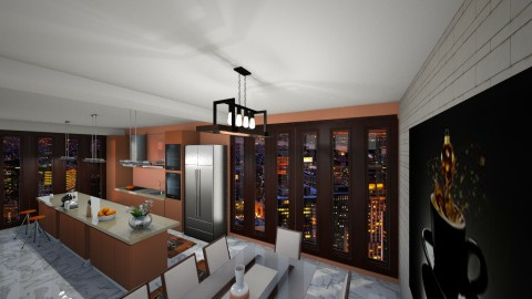 My_Owm_Kitchen22 - Modern - Kitchen - by vanissia criss