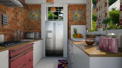 Cheia de vida  - Kitchen - by Sanare Sousa
