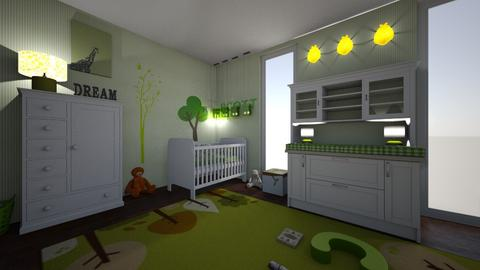 miles - Kids room - by hillygabe