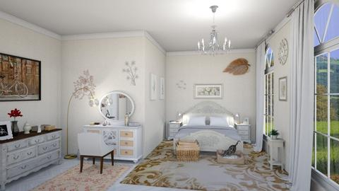 Shabby Chic Bedroom - Classic - Bedroom - by petersohn