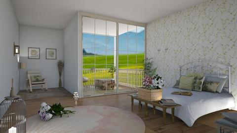 meadow cottage - Country - Bedroom - by darcyclayton