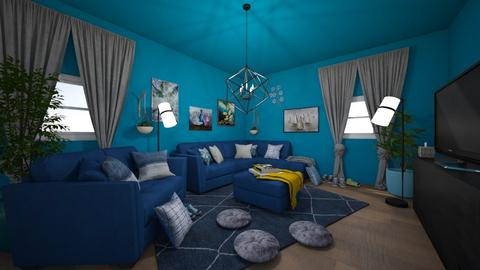 Game time - Living room - by Alima5A
