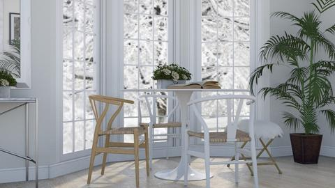 White as Snow - Modern - Dining room - by millerfam