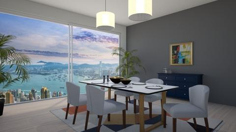 chilled dining - Dining room - by Paris Lidgard