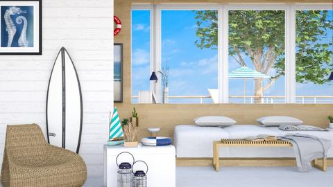 nautical - Bedroom - by its_eima