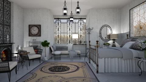 M_Wrought iron idea - Bedroom - by milyca8