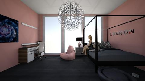 Tiny bedroom1 - Modern - Bedroom - by WaughCat