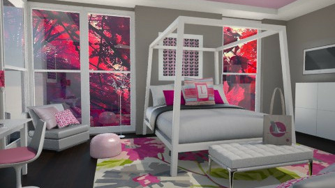 Pinkalicious - Modern - Bedroom - by channing4