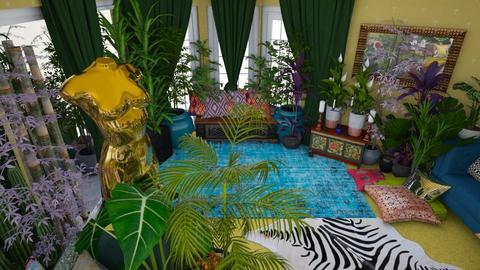 urban jungle studio sofa - by Moriia