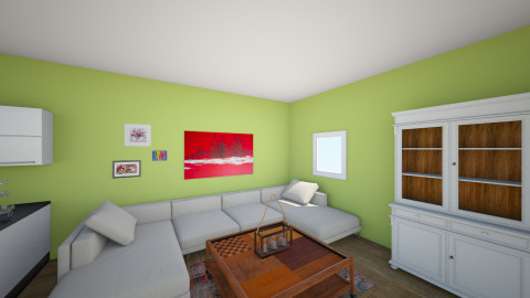 home office - Living room - by Felizia