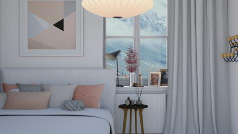 Frozen Pink - Modern - Bedroom - by HenkRetro1960