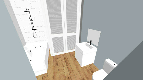 basement bathroom - by kristiderev
