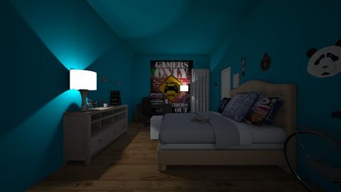 Brandons Room AKA FM - Bedroom - by goldygi