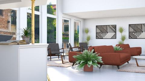 Large Reception Area - Modern - Living room - by millerfam