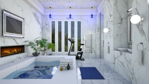 marmo  - Modern - Bathroom - by Ida Dzanovic