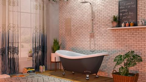 Boho Bath - Bathroom - by lovedsign