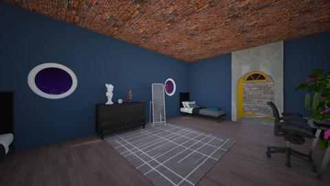 project 2nd bedroom - Minimal - Bedroom - by PipPipJangles
