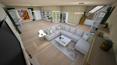 family home 153 - Modern - Living room - by Stavroula Chatzina