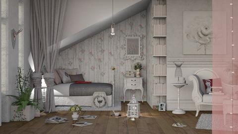 Shabby Chic Bedroom - Classic - Bedroom - by Roquette