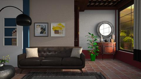 Tuscany summer - Living room - by Inna_Inas