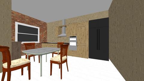 Super Kitchen 3000 - Modern - Kitchen - by sazgf