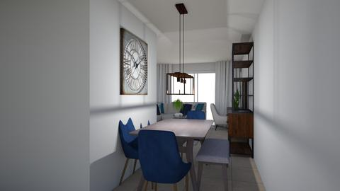 Sarah Apt 1 Dining Room - Living room - by emmanuelmanny