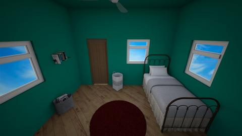 Attic Nook Bedroom - Bedroom - by MimiB115