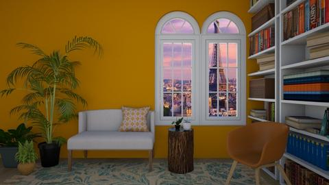 Urban jungle - Living room - by Miss MH