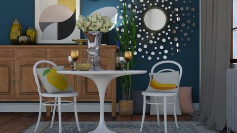 Table 4 two - Modern - Dining room - by HenkRetro1960