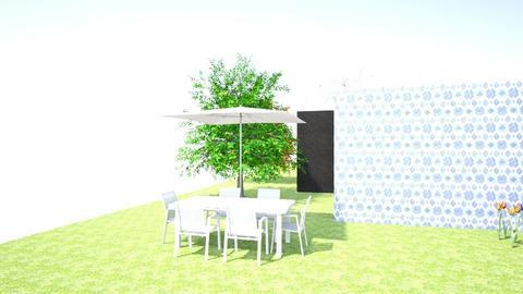 Angela Martin Frontyard1 - Garden - by Teacher Tita