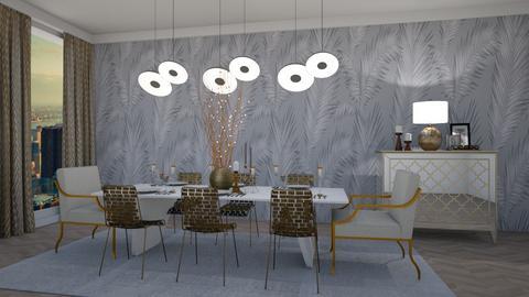 Modern Dinning Room  - Dining room - by JarkaK