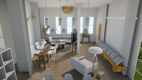עבודת גמר סלון 8 - Living room - by Asaf Diamant