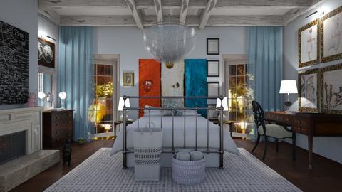 Black cat - Bedroom - by The quiet designer