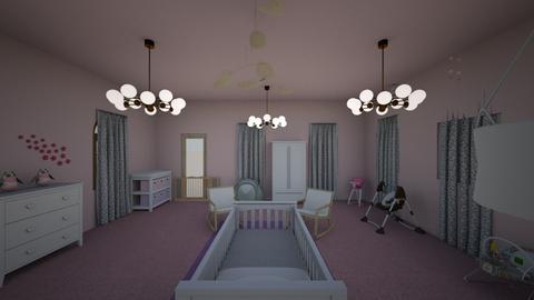 Chloe nursery  - Glamour - Kids room - by Teacher Tita