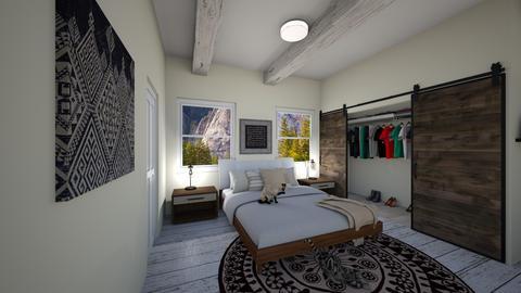studio bedroom - by dreabaas14