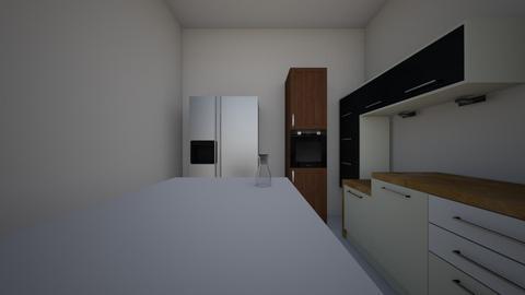 Hayaa 3D Kitchen  - Minimal - Kitchen - by Hayaa Mudassir