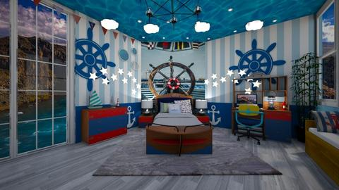 Nautical Bedroom - Kids room - by NinjaKidd22431