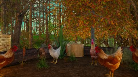 Chickens - by Yavanna